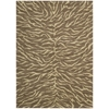 "Nourison Riviera Rectangle Rug  By Nourison, Chocolate, 5'3"" X 7'5"""