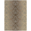"Nourison Riviera Rectangle Rug  By Nourison, Mocha Beige, 7'9"" X 10'10"""