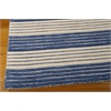 "Bbl1 Ripple Rectangle Rug By, Midnight Blue, 5'6"" X 7'5"""