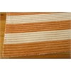 "Nourison Bbl1 Ripple Rectangle Rug  By Nourison, Pumpkin, 5'6"" X 7'5"""