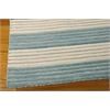 "Nourison Bbl1 Ripple Rectangle Rug  By Nourison, Seascape, 5'6"" X 7'5"""