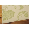 """Home & Garden Rectangle Rug By, Green, 5'3"""" X 7'5"""""""