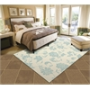 """Home & Garden Rectangle Rug By, Ivory, 5'3"""" X 7'5"""""""
