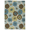 "Home & Garden Rectangle Rug By, Light Blue, 7'9"" X 10'10"""