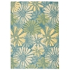 "Home & Garden Rectangle Rug By, Blue, 7'9"" X 10'10"""