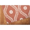 "Nourison Home & Garden Rectangle Rug  By Nourison, Rust, 5'3"" X 7'5"""