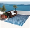 Home & Garden Navy Indoor/Outdoor Area Rug