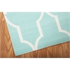 "Nourison Home & Garden Rectangle Rug  By Nourison, Aqua, 5'3"" X 7'5"""