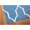 "Nourison Home & Garden Rectangle Rug  By Nourison, Navy, 5'3"" X 7'5"""