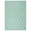 Home & Garden Aqua Indoor/Outdoor Area Rug