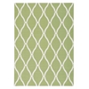 Home & Garden Green Indoor/Outdoor Area Rug