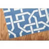 "Home & Garden Rectangle Rug By, Navy, 7'9"" X 10'10"""