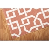 "Home & Garden Rectangle Rug By, Rust, 5'3"" X 7'5"""