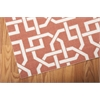"Nourison Home & Garden Rectangle Rug  By Nourison, Rust, 7'9"" X 10'10"""