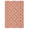 Home & Garden Rust Indoor/Outdoor Area Rug