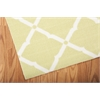 "Home & Garden Rectangle Rug By, Light Green, 5'3"" X 7'5"""