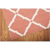 "Nourison Home & Garden Rectangle Rug  By Nourison, Orange, 5'3"" X 7'5"""