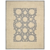 "Ki14 Royal Serenity Rectangle Rug By, Slate, 7'6"" X 9'6"""