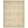 "Ki14 Royal Serenity Rectangle Rug By, Bone, 7'6"" X 9'6"""