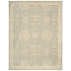 "Nourison Ki14 Royal Serenity Rectangle Rug  By Nourison, Cloud, 7'6"" X 9'6"""