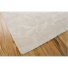 "Silk Shadows Rectangle Rug By, Ivory, 7'9"" X 9'9"""