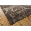 "Silk Shadows Rectangle Rug By, Brown, 7'9"" X 9'9"""