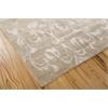 "Nourison Silk Shadows Rectangle Rug  By Nourison, Light Gold, 7'9"" X 9'9"""