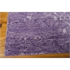 "Silk Shadows Rectangle Rug By, Amethyst, 7'9"" X 9'9"""
