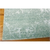 "Nourison Silk Shadows Rectangle Rug  By Nourison, Marine, 7'9"" X 9'9"""