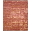 Silk Shadows Flame Area Rug