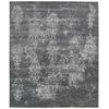 "Nourison Silk Shadows Rectangle Rug  By Nourison, Graphite, 7'9"" X 9'9"""