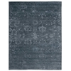 "Nourison Silk Shadows Rectangle Rug  By Nourison, Blue Stone, 5'6"" X 7'5"""