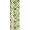 "Siam Runner Rug By, Ivory Green, 2'3"" X 7'6"""