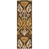 "Nourison Siam Runner Rug  By Nourison, Chocolate, 2'3"" X 7'6"""