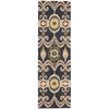 "Siam Runner Rug By, Indigo, 2'3"" X 7'6"""