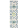 "Siam Runner Rug By, Ivory, 2'3"" X 7'6"""