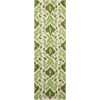 Siam Ivory/Green Area Rug