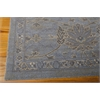 "Silk Infusion Rectangle Rug By, Blue, 7'9"" X 9'9"""