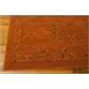 "Nourison Silk Infusion Rectangle Rug  By Nourison, Copper, 7'9"" X 9'9"""
