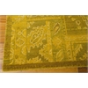 "Nourison Silk Infusion Rectangle Rug  By Nourison, Yellow, 7'9"" X 9'9"""