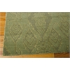 "Nourison Silk Infusion Rectangle Rug  By Nourison, Seafoam, 7'9"" X 9'9"""