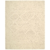 "Silk Elements Rectangle Rug By, Natural, 7'9"" X 9'9"""