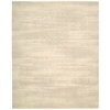 "Nourison Silk Elements Rectangle Rug  By Nourison, Bone, 7'9"" X 9'9"""