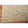 "Nourison Silk Elements Rectangle Rug  By Nourison, Beige, 7'9"" X 9'9"""