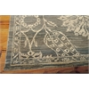 "Nourison Silk Elements Rectangle Rug  By Nourison, Graphite, 7'9"" X 9'9"""