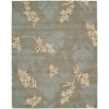 "Nourison Skyland Rectangle Rug  By Nourison, Green, 7'6"" X 9'6"""