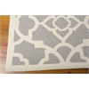 "Nourison Wav01 Sun & Shade Rectangle Rug  By Nourison, Grey, 5'3"" X 7'5"""