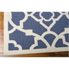 "Nourison Wav01 Sun & Shade Rectangle Rug  By Nourison, Lapis, 5'3"" X 7'5"""