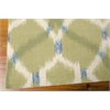 "Wav01 Sun & Shade Rectangle Rug By, Avocado, 5'3"" X 7'5"""