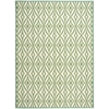 "Wav01 Sun & Shade Rectangle Rug By, Carnival, 7'9"" X 10'10"""